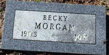 MORGAN, BECKY - Pope County, Arkansas | BECKY MORGAN - Arkansas Gravestone Photos