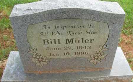 MULER, BILL - Pope County, Arkansas   BILL MULER - Arkansas Gravestone Photos