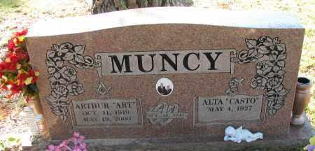 "MUNCY, ARTHUR  ""ART"" - Pope County, Arkansas | ARTHUR  ""ART"" MUNCY - Arkansas Gravestone Photos"