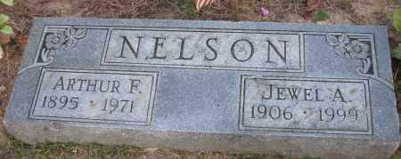 NELSON, ARTHUR F - Pope County, Arkansas | ARTHUR F NELSON - Arkansas Gravestone Photos