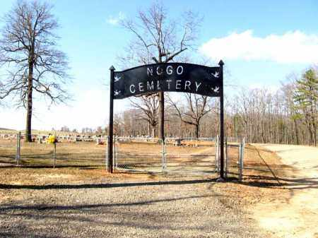 *NOGO CEMETERY ENTRANCE,  - Pope County, Arkansas |  *NOGO CEMETERY ENTRANCE - Arkansas Gravestone Photos