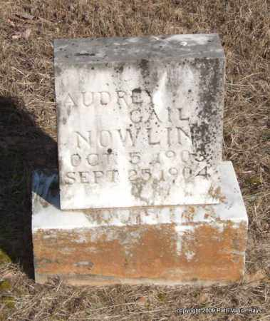 NOWLIN, AUDREY GAIL - Pope County, Arkansas | AUDREY GAIL NOWLIN - Arkansas Gravestone Photos