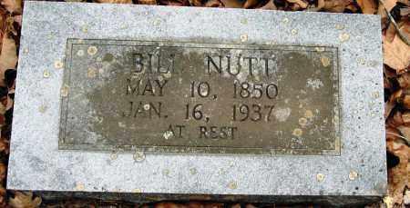 NUTT, BILL (WILLIAM) - Pope County, Arkansas | BILL (WILLIAM) NUTT - Arkansas Gravestone Photos