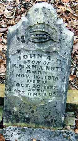 NUTT, JOHN A  T - Pope County, Arkansas | JOHN A  T NUTT - Arkansas Gravestone Photos