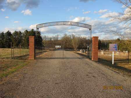 *OAKLAND (AT ATKINS) GATE,  - Pope County, Arkansas |  *OAKLAND (AT ATKINS) GATE - Arkansas Gravestone Photos