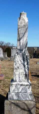 OATES, A  F - Pope County, Arkansas   A  F OATES - Arkansas Gravestone Photos