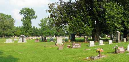 *MCFADDEN CEMETERY OVERVIEW,  - Pope County, Arkansas |  *MCFADDEN CEMETERY OVERVIEW - Arkansas Gravestone Photos
