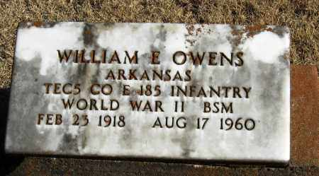 OWENS  (VETERAN WWII), WILLIAM - Pope County, Arkansas | WILLIAM OWENS  (VETERAN WWII) - Arkansas Gravestone Photos