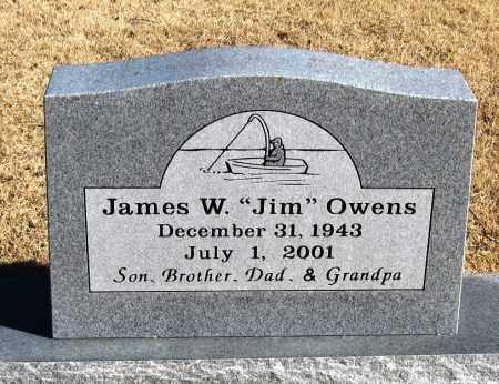 "OWENS, JAMES W  ""JIM"" - Pope County, Arkansas | JAMES W  ""JIM"" OWENS - Arkansas Gravestone Photos"