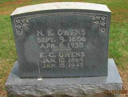 OWENS, E C - Pope County, Arkansas | E C OWENS - Arkansas Gravestone Photos