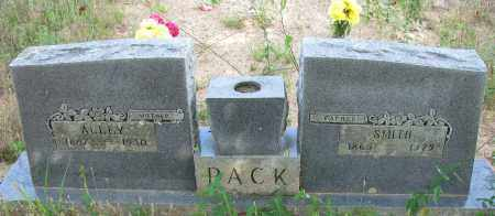 PACK, SMITH - Pope County, Arkansas | SMITH PACK - Arkansas Gravestone Photos