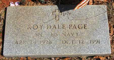 PAGE  (VETERAN), ROY DALE - Pope County, Arkansas | ROY DALE PAGE  (VETERAN) - Arkansas Gravestone Photos