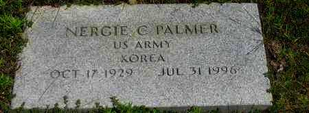 PALMER (VETERAN KOR), NERGIE C - Pope County, Arkansas | NERGIE C PALMER (VETERAN KOR) - Arkansas Gravestone Photos