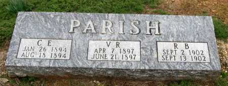 PARISH, C  E - Pope County, Arkansas | C  E PARISH - Arkansas Gravestone Photos