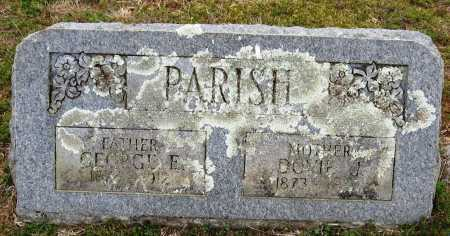 PARISH, GEORGE E - Pope County, Arkansas | GEORGE E PARISH - Arkansas Gravestone Photos