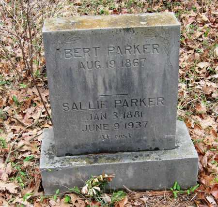 PARKER, SALLIE - Pope County, Arkansas | SALLIE PARKER - Arkansas Gravestone Photos