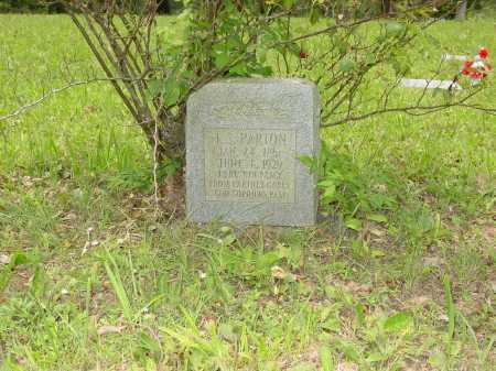 PARTON, JOHN STARNES - Pope County, Arkansas   JOHN STARNES PARTON - Arkansas Gravestone Photos