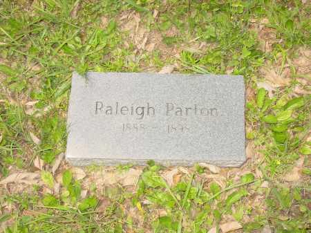 PARTON, RALEIGH - Pope County, Arkansas | RALEIGH PARTON - Arkansas Gravestone Photos