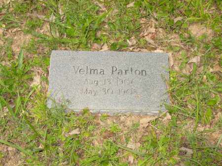 PARTON, VELMA - Pope County, Arkansas   VELMA PARTON - Arkansas Gravestone Photos