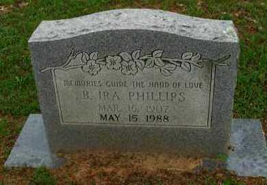 PHILLIPS, B IRA - Pope County, Arkansas | B IRA PHILLIPS - Arkansas Gravestone Photos