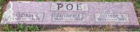 GRAY POE, LUCINDA G - Pope County, Arkansas | LUCINDA G GRAY POE - Arkansas Gravestone Photos
