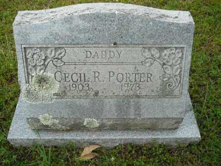 PORTER, CECIL R. - Pope County, Arkansas   CECIL R. PORTER - Arkansas Gravestone Photos