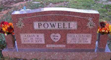 POWELL, AARON W - Pope County, Arkansas | AARON W POWELL - Arkansas Gravestone Photos