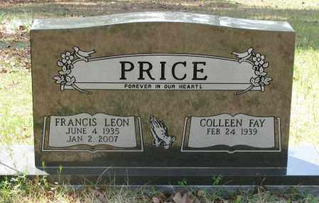 PRICE, FRANCIS LEON - Pope County, Arkansas | FRANCIS LEON PRICE - Arkansas Gravestone Photos