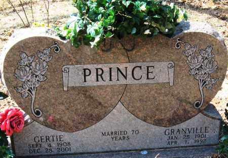 PRINCE, GERTIE - Pope County, Arkansas | GERTIE PRINCE - Arkansas Gravestone Photos