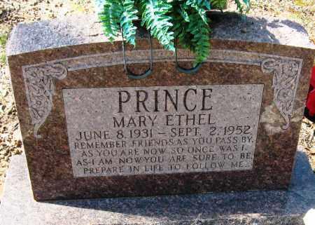 PRINCE, MARY ETHEL - Pope County, Arkansas | MARY ETHEL PRINCE - Arkansas Gravestone Photos