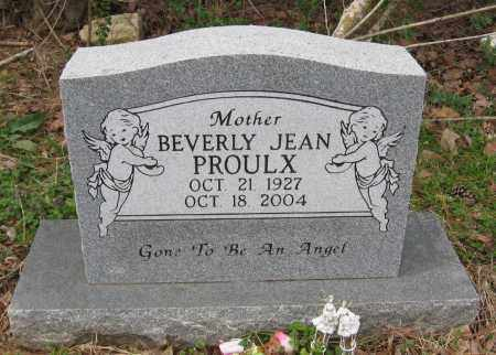 PROULX, BEVERLY JEAN - Pope County, Arkansas   BEVERLY JEAN PROULX - Arkansas Gravestone Photos