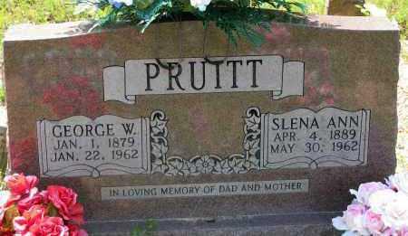 PRUITT, SLENA ANN - Pope County, Arkansas | SLENA ANN PRUITT - Arkansas Gravestone Photos