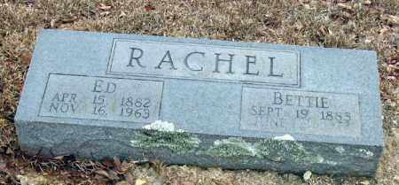 RACHEL, BETTIE - Pope County, Arkansas | BETTIE RACHEL - Arkansas Gravestone Photos