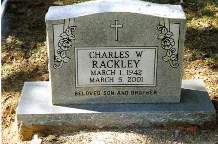 RACKLEY, CHARLES W - Pope County, Arkansas   CHARLES W RACKLEY - Arkansas Gravestone Photos