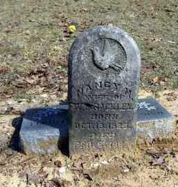 RACKLEY, NANCY MALINDA - Pope County, Arkansas | NANCY MALINDA RACKLEY - Arkansas Gravestone Photos