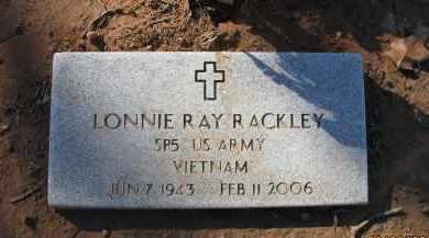 RACKLEY (VETERAN VIET), LONNIE RAY - Pope County, Arkansas | LONNIE RAY RACKLEY (VETERAN VIET) - Arkansas Gravestone Photos