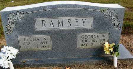 RAMSEY, GEORGE W - Pope County, Arkansas | GEORGE W RAMSEY - Arkansas Gravestone Photos
