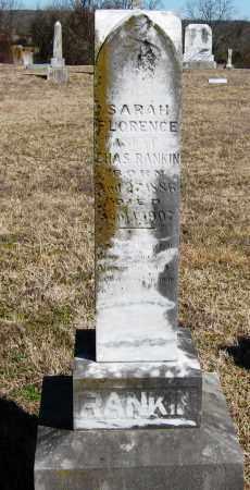 RANKIN, SARAH FLORENCE - Pope County, Arkansas | SARAH FLORENCE RANKIN - Arkansas Gravestone Photos