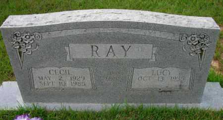 RAY, CECIL - Pope County, Arkansas | CECIL RAY - Arkansas Gravestone Photos