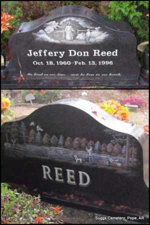 REED, JEFFERY DON - Pope County, Arkansas | JEFFERY DON REED - Arkansas Gravestone Photos