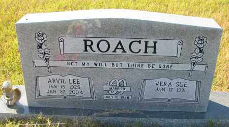 ROACH, ARVIL LEE - Pope County, Arkansas | ARVIL LEE ROACH - Arkansas Gravestone Photos