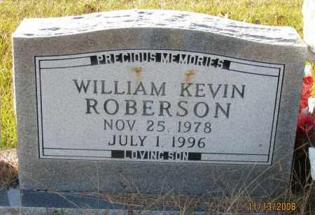 ROBERSON, WILLIAM KEVIN - Pope County, Arkansas | WILLIAM KEVIN ROBERSON - Arkansas Gravestone Photos