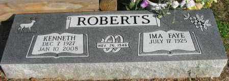 ROBERTS, KENNETH - Pope County, Arkansas   KENNETH ROBERTS - Arkansas Gravestone Photos