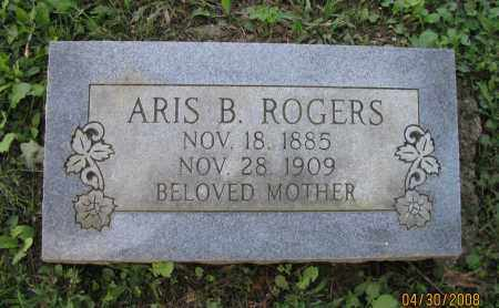 ROGERS, ARIS B - Pope County, Arkansas | ARIS B ROGERS - Arkansas Gravestone Photos