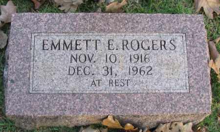 ROGERS, EMMETT E - Pope County, Arkansas | EMMETT E ROGERS - Arkansas Gravestone Photos
