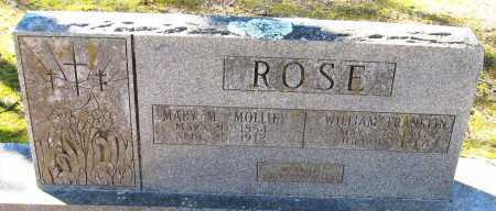 LINTON ROSE, MARY M (MOLLIE) - Pope County, Arkansas   MARY M (MOLLIE) LINTON ROSE - Arkansas Gravestone Photos