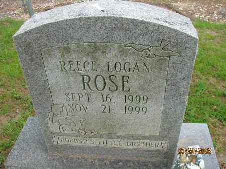 ROSE, REECE LOGAN - Pope County, Arkansas | REECE LOGAN ROSE - Arkansas Gravestone Photos