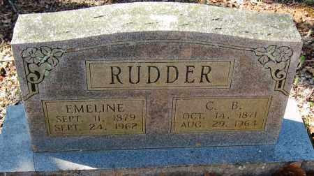 RUDDER, C B - Pope County, Arkansas | C B RUDDER - Arkansas Gravestone Photos