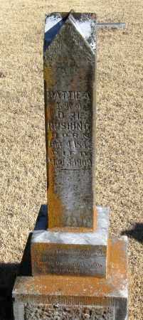 RUSHING, MATTIE A. - Pope County, Arkansas   MATTIE A. RUSHING - Arkansas Gravestone Photos