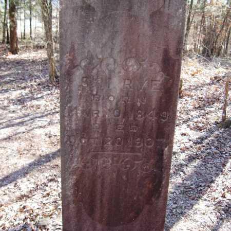 RYE, S  H - Pope County, Arkansas | S  H RYE - Arkansas Gravestone Photos